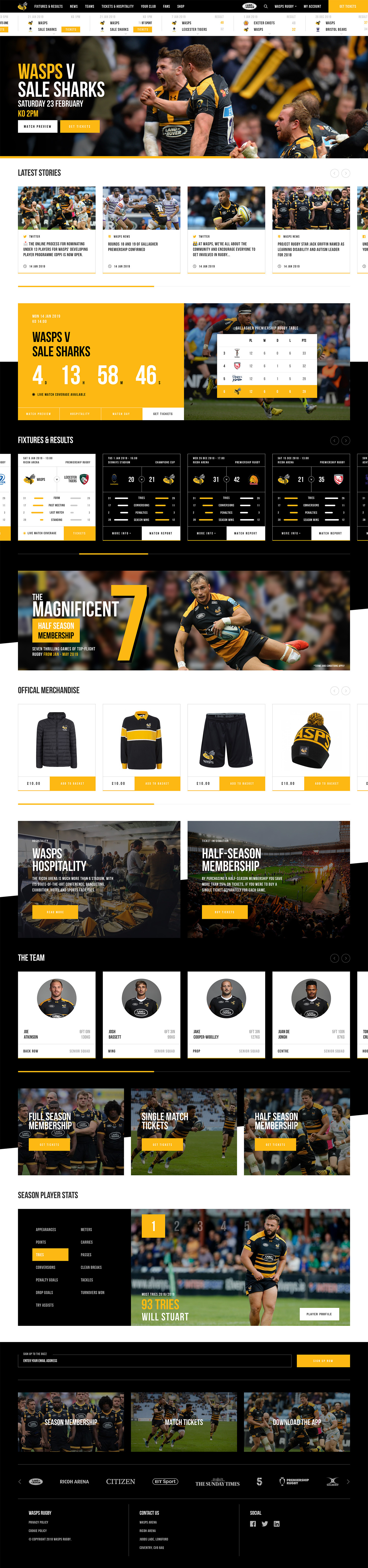 Wasps Rugby Asset